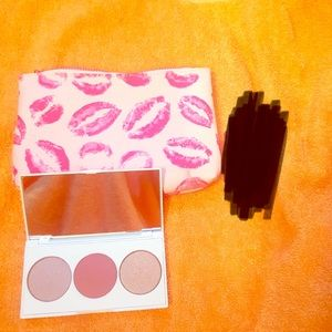 Highlighter/blush and bag
